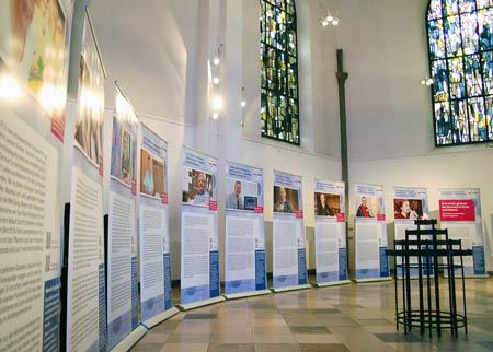 Die Ausstellung in der Essener Marktkirche