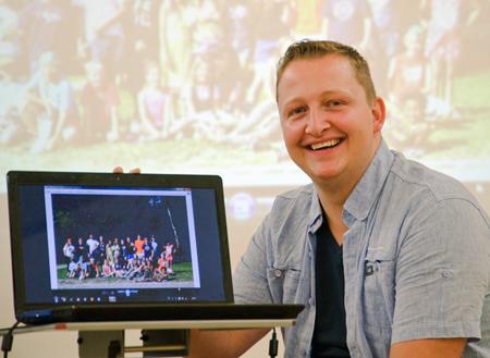 Martin Horstick ist ehrenamtlicher Ferienbetreuer beim Diakoniewerk Essen